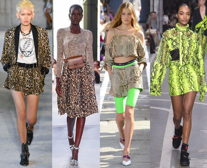 tendencias moda primavera verano 2019 animalier