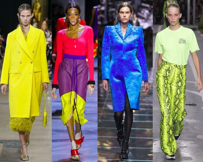 tendencias moda pv19 colores fluor