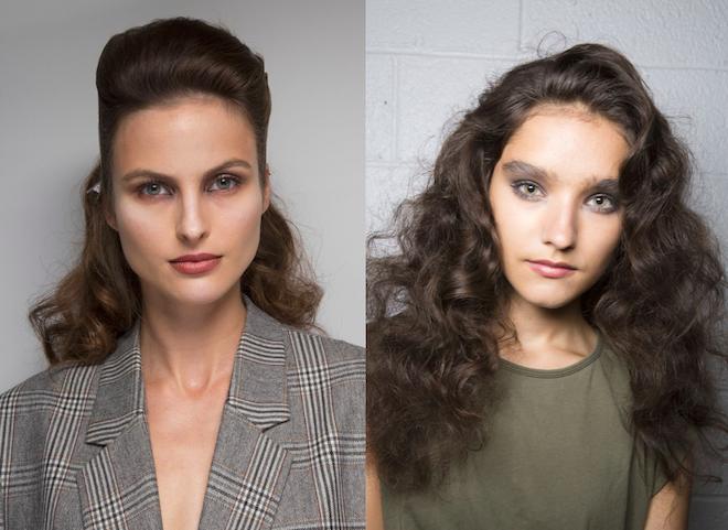 peinados moda 2019 ondas marcadas