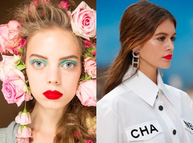 Maquillaje primavera verano 19 labios rojos