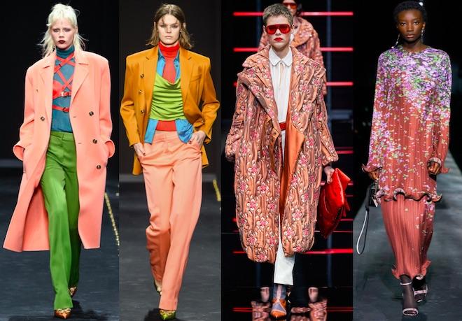 colores de moda invierno 2019 2020 melocoton