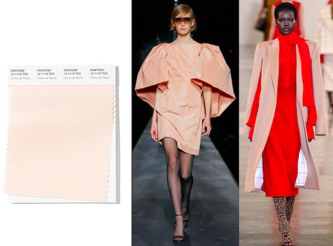 colores de moda invierno 2020 creme de peche