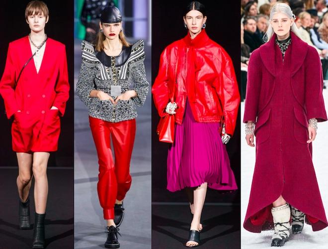 colores de moda invierno 2020 rojo 3