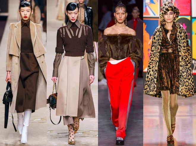 colores de moda oi 2019 2020 marron