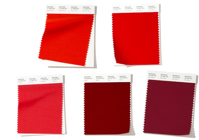 colores de moda oi 2019 2020 rojo