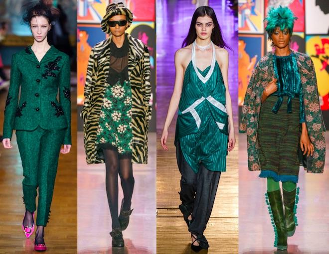 colores de moda oi 2020 verde