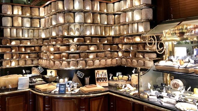 les grands buffets quesos surtidos