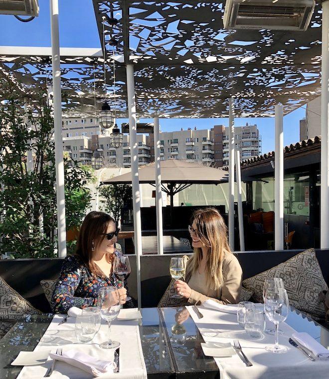 nuba barcelona terraza ajardinada