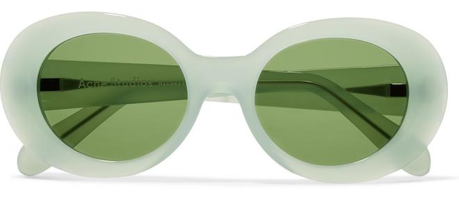 gafas ovaladas acne studio