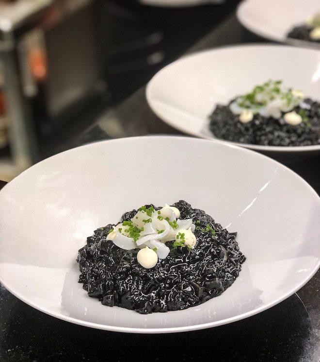 risotto Nero restaurante eixample