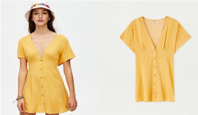vestido amarillo verano 19