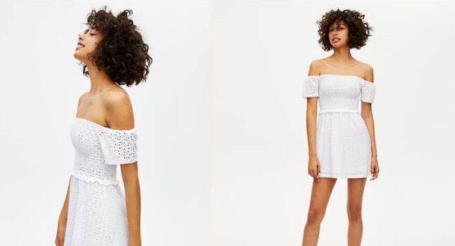 vestido blanco espalda al descubierto