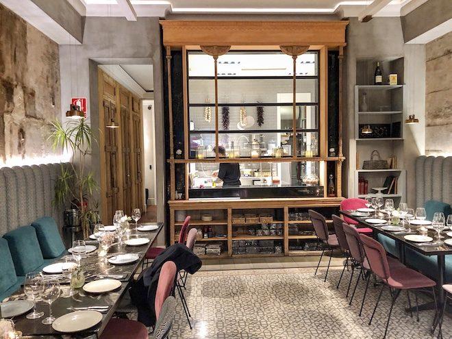 we bistrot restaurante cocina a vista