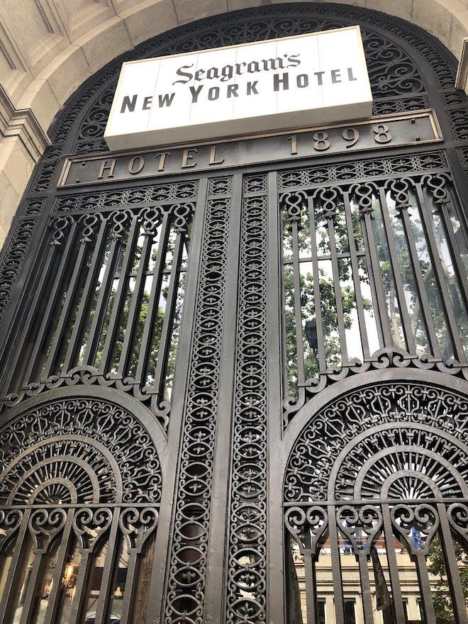 Seagrams NY Hotel 1898