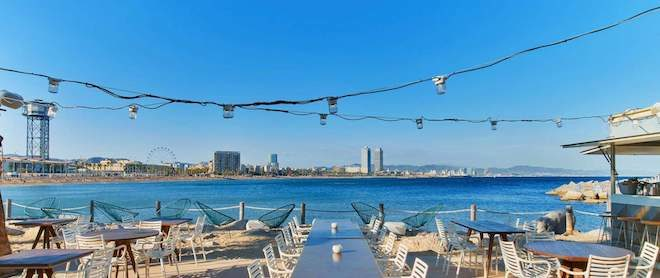 salt beach restaurant w barcelona
