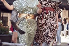 vestidos animal print curvy