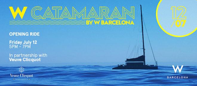 w catamaran barcelona julio 2019