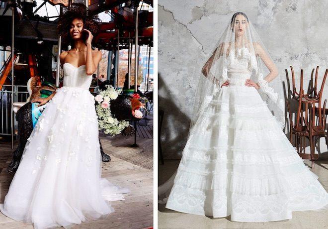 vestido novia princesa moda 2020