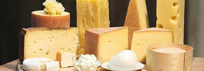 quesos de suiza