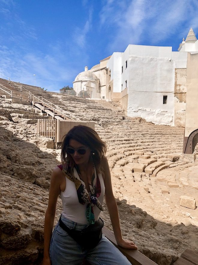 turismo cadiz teatro romano