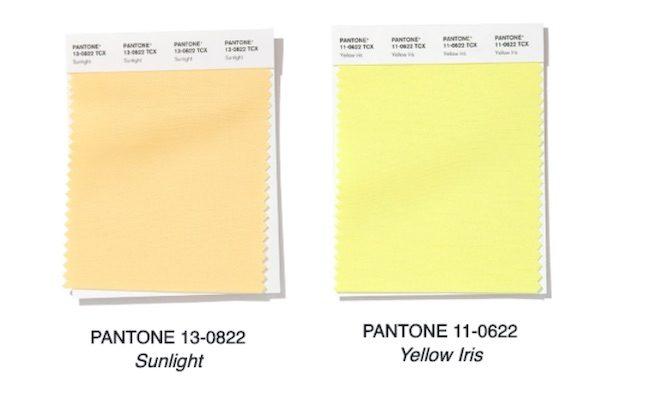 amarillo color moda primavera 2020