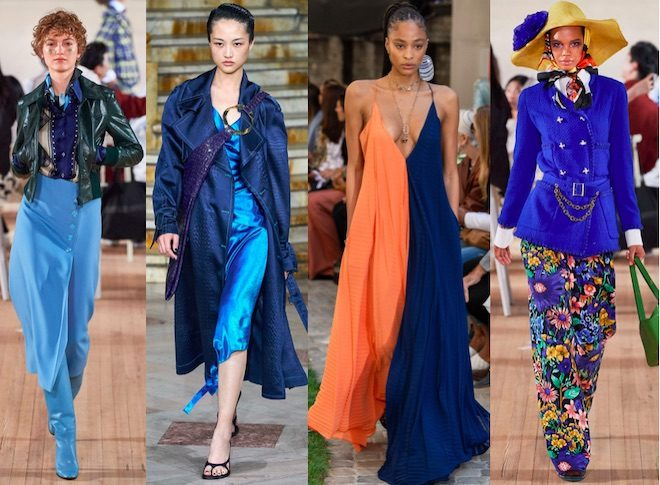azul color moda pv 2020