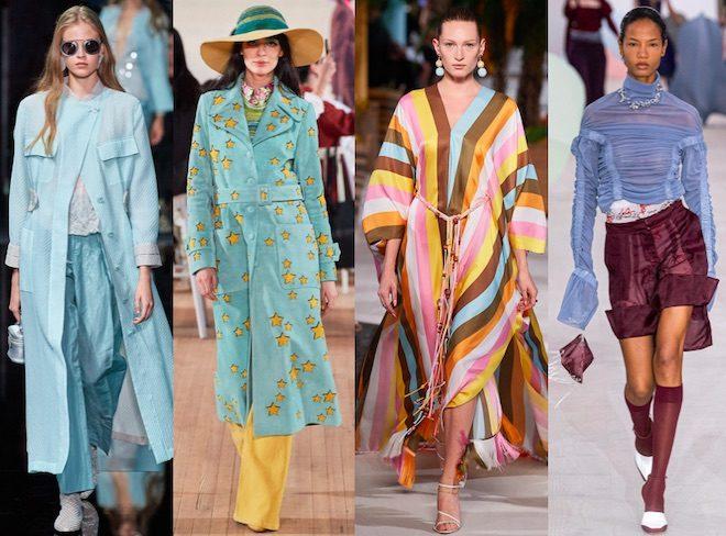 celeste color de moda primavera 2020