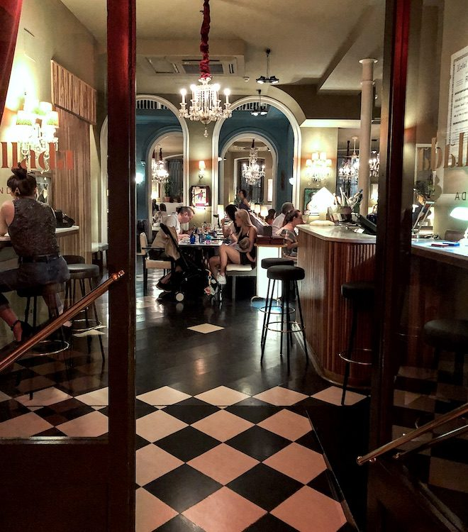 entrada restaurante parellada