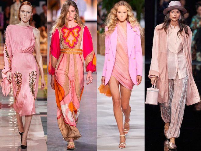 rosa color de moda primavera 2020