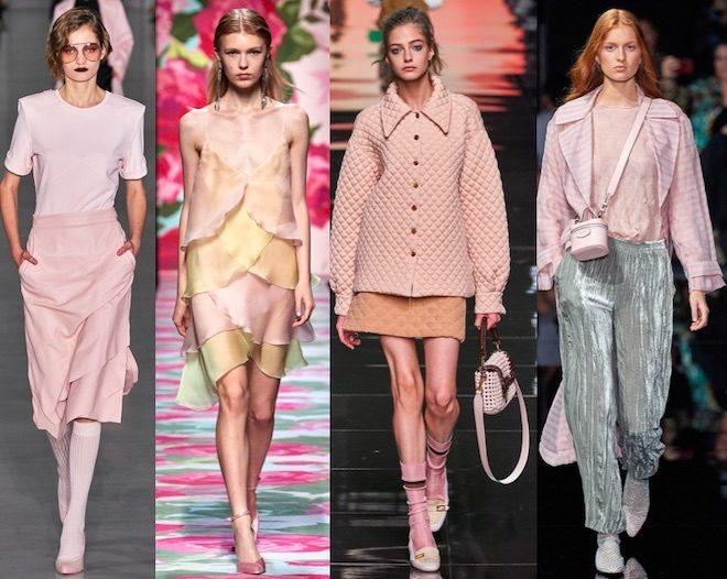 rosa color moda pv 2020