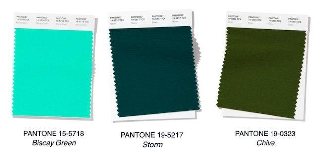 verde tendencias pantone 2020