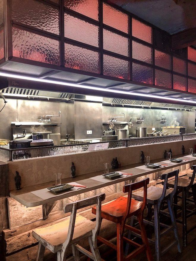 cocina a vista restaurante boa bao