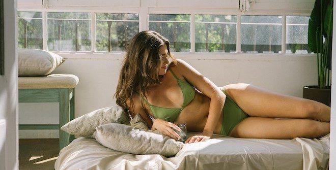 lef lingerie ropa intima green