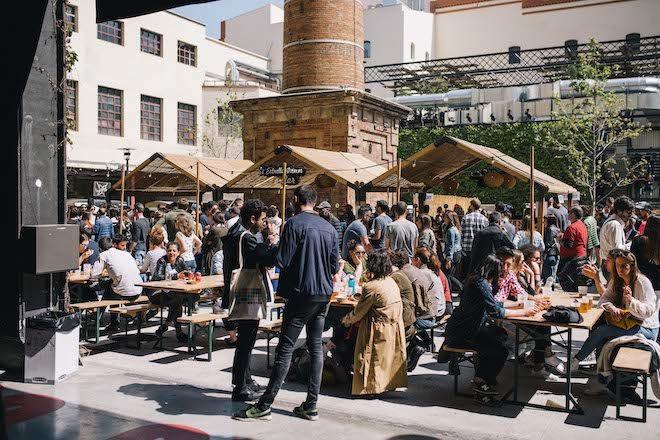 van van market evento finde barcelona