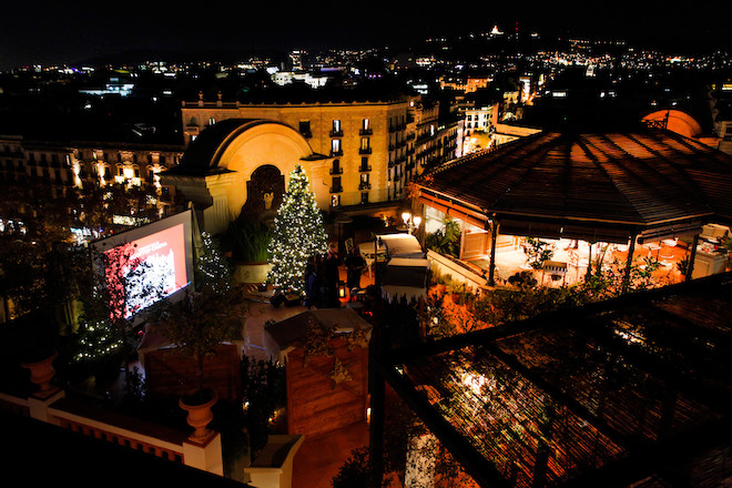 Cine de Navidad en la Terraza del Palace Barcelona