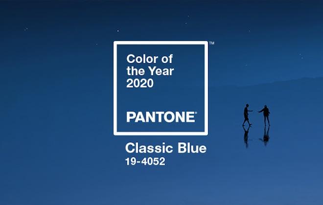 classic blue color moda 2020