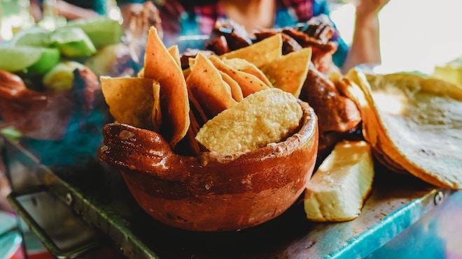 nachos caseros mexican