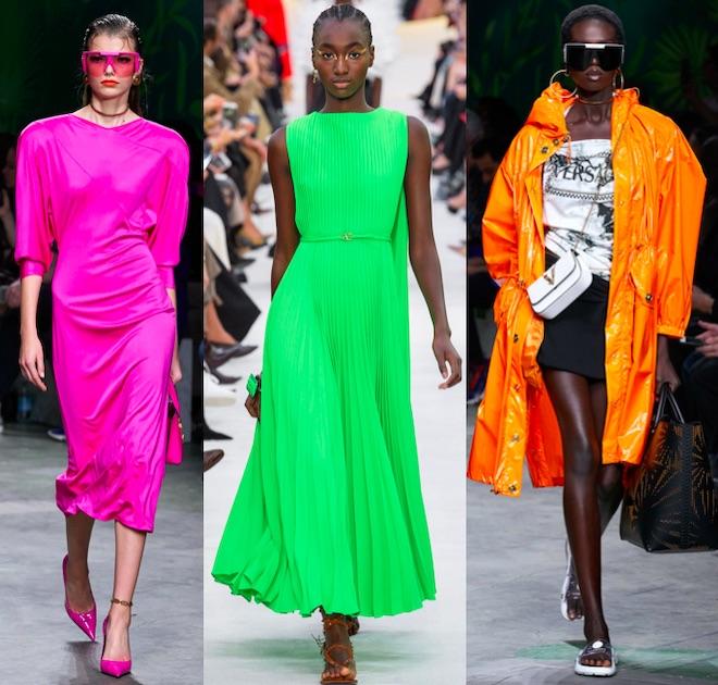 moda primavera 2020 neon