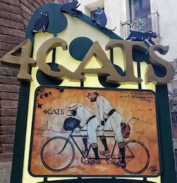 4cats restaurante modernista barcelona
