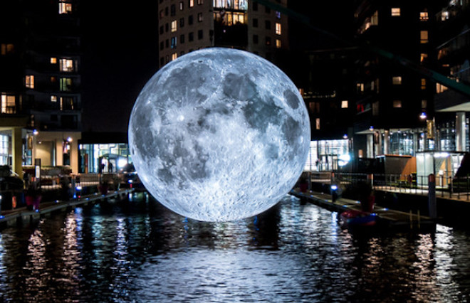 Llum BCN 2020 luna