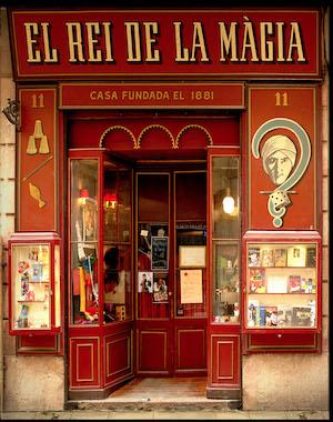 el rei de la magia tienda historica