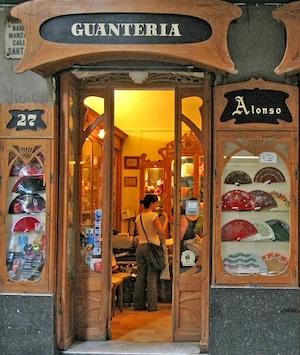guanteria alonso tiendas antiguas de Barcelona