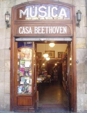 tienda casa beethoveen barcelona