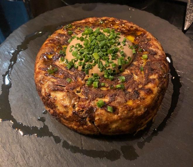 tortilla espanola restaurante barcelona