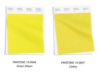 amarillo color de moda invierno 2020