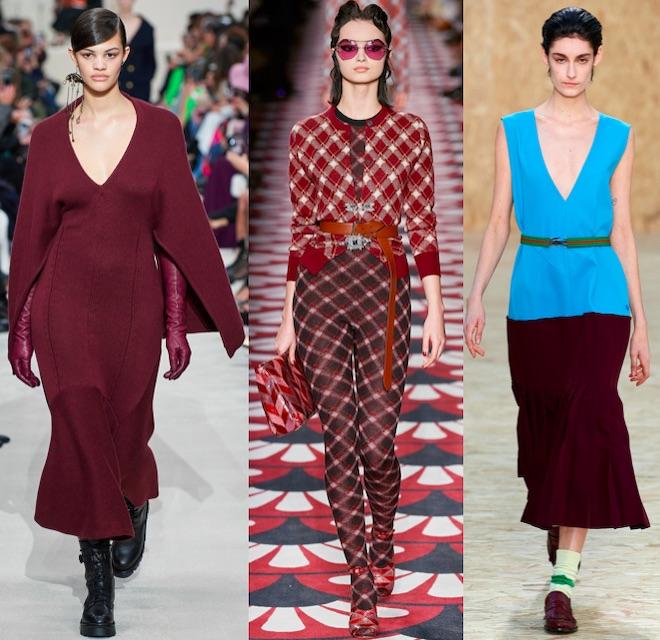 bourdeaux color moda oi 2021