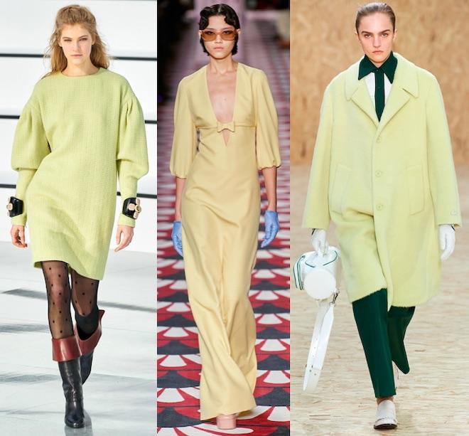 color trend fw 2020 21 amarillo