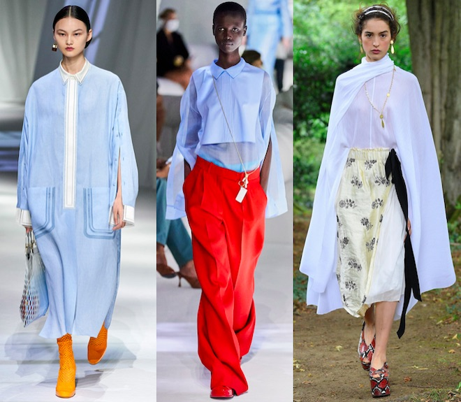 celeste color de moda pv 2021