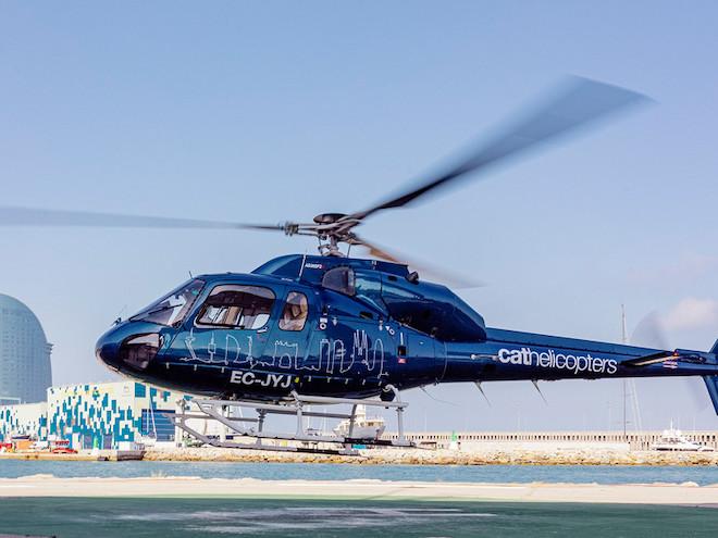 vuelta en helicoptero Barcelona