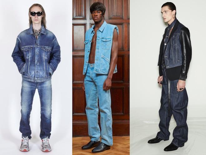 moda hombre verano 2021 total denim